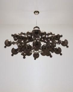 Maison Charles Bubbles Black Silver Lüster