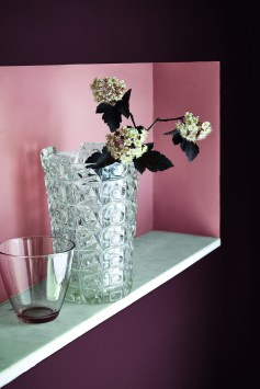 Little Greene Wandfarbe pink - Hoyer & Kast Interiors