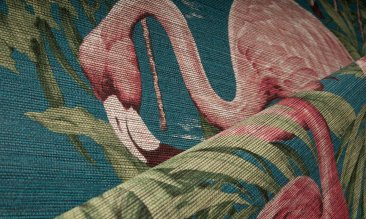 Arte Flamingo Tapete Detail