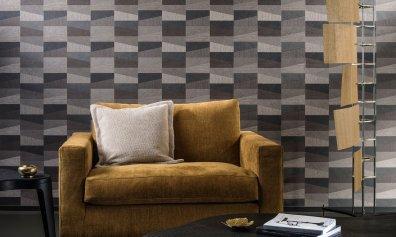 Arte Walls Geometrische Tapete Polygon