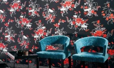 Flavor Paper für Arte Walls Vigilant Floral Tapete