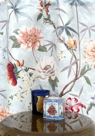 Lelievre PRINTEMPS DE CHINE Vorhangsstoff - Hoyer & Kast Interiors