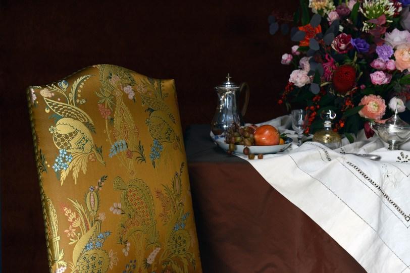 Tassinari & Chatel COUR DE SIAM Seidenstoff - Hoyer & Kast Interiors