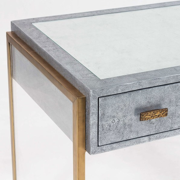 Julian Chichester Brooklyn Dressing Table Detail - Hoyer & Kast Interiors