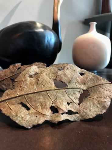 Hoyer & Kast Interiors Bronzeguß Blätter
