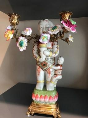 Hoyer & Kast Interiors Chinoiserie Kerzenleuchter