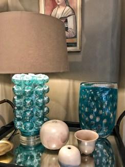 Hoyer & Kast Interiors mundgeblasenes Glas