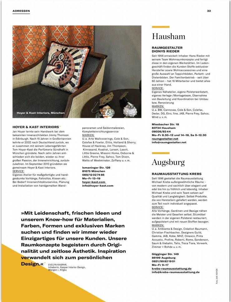 AW Architektur & Wohnen Raumausstatter 4
