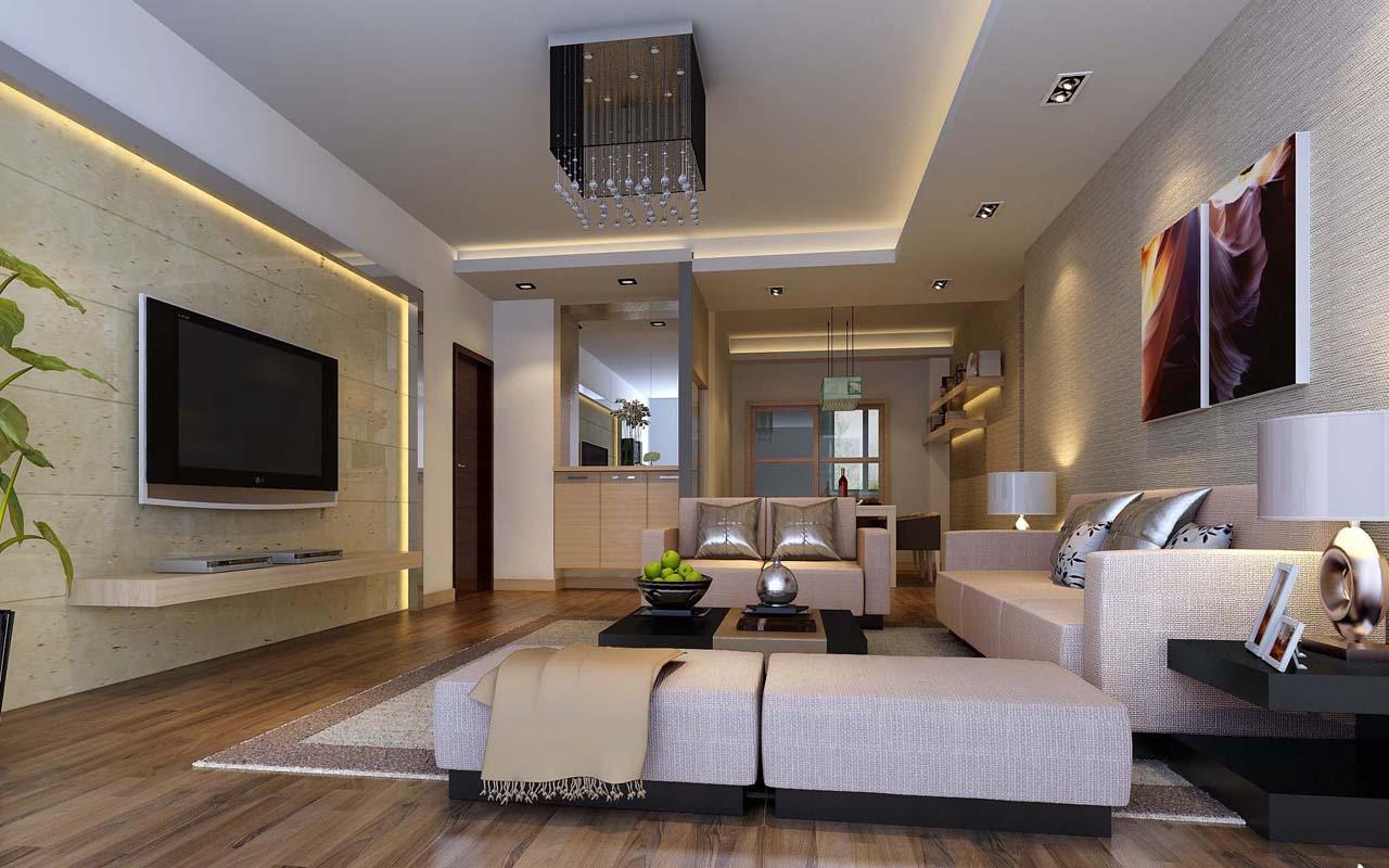Decoracion De Interiores Living Moderno