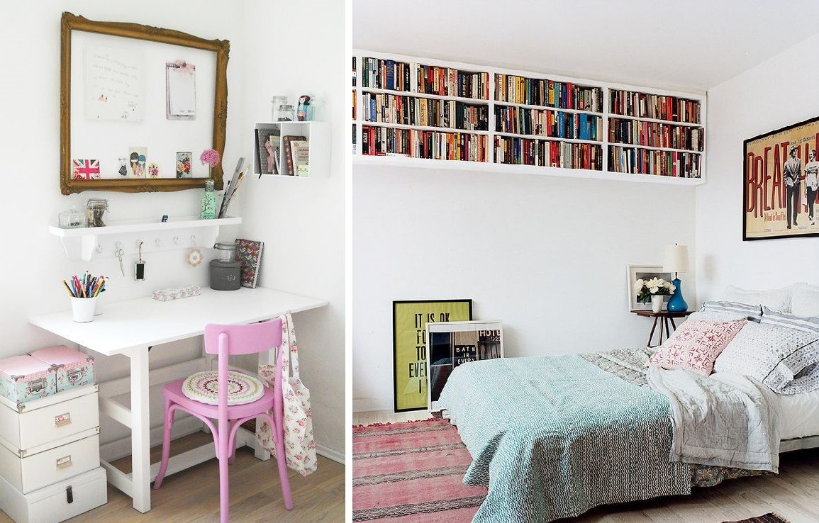 decoracion dormitorios libreria  Hoy LowCost