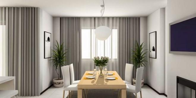 decoracion salones gris y blanco cortinas diseo  copia