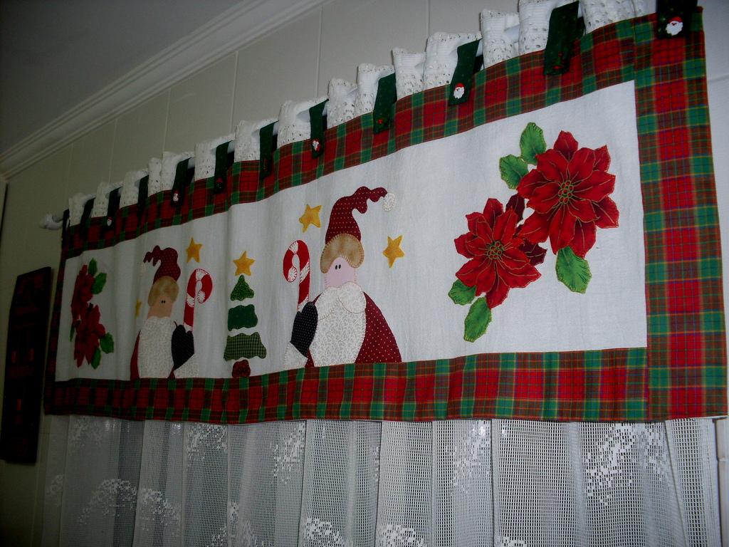 Cortina De Navidad Para El Bano