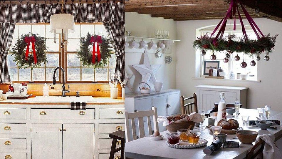 decorar cocina en navidad  Hoy LowCost