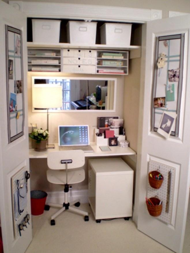 zona de trabajo espacios pequeños
