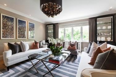casas lujo lujosas cojines elegantes confort living modernas salas grandes salones london poco interiores room holland park domusnova property crear