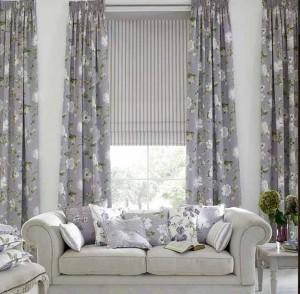 decoracion estores y cortinas salon  Hoy LowCost