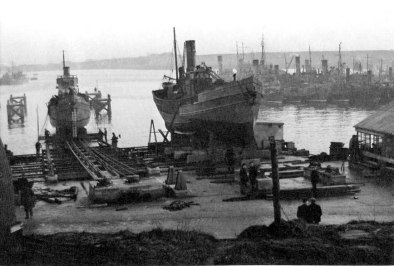 Drifter Slipway, Lyness © The National Archives, ref. ADM116/5790