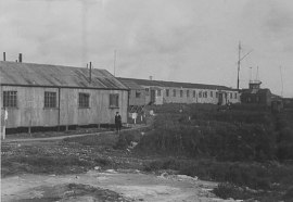 The Admiral Commanding Orkney & Shetland offices at Head of Right, Lyness. © The National Archives, ref. ADM116/5790
