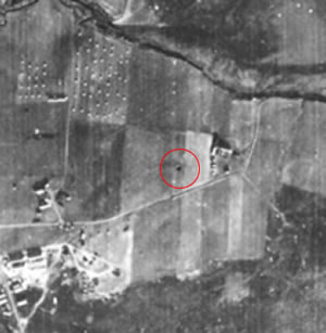 Location of First Bomb to Land on British Soil in WWII