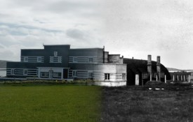 WWII Hoy Then & Now - Garrison Theatre