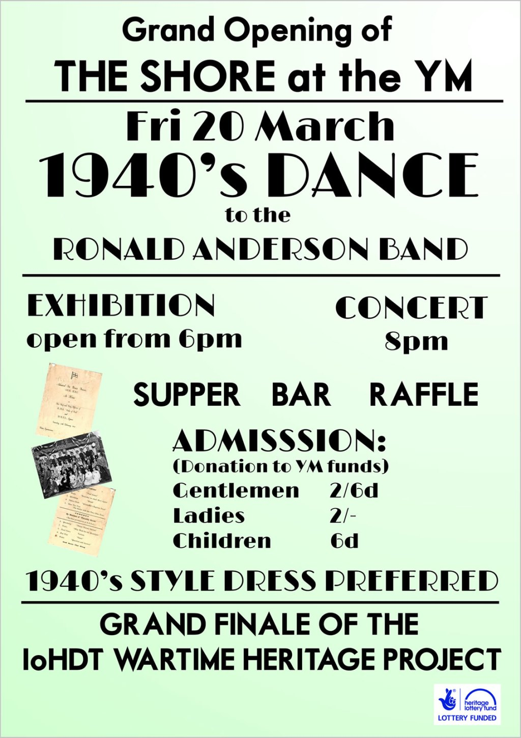 YM 1940's dance March 2015