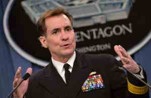 John Kirby when he was still a Rear Admiral. Proving still that Courtney Massengale can get ahead.
