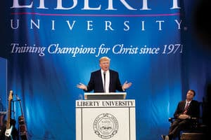 Evangelicals and Donald Trump shouldn't mix.