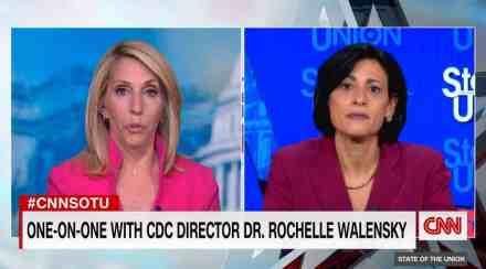 CDC Director Rochelle Walensky on CNN.