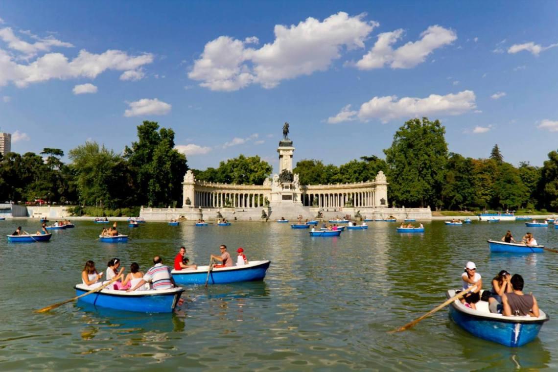 Laguna del parque