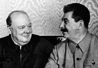 churchill stalin