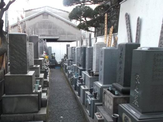 浄念寺【平坦な墓地】