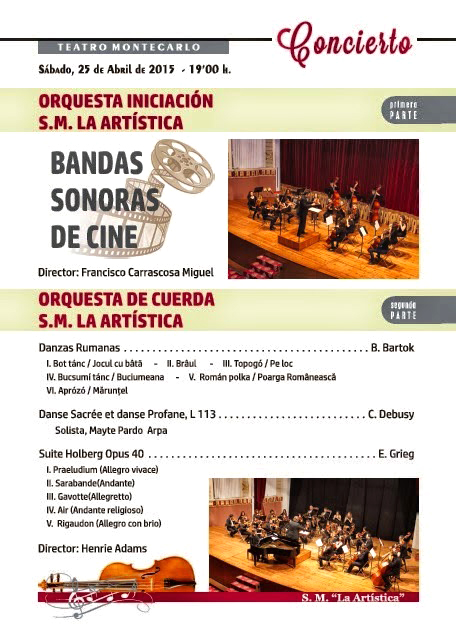 concierto 25 abril