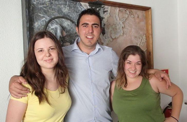 Becarias turismo con Manuel Concejal