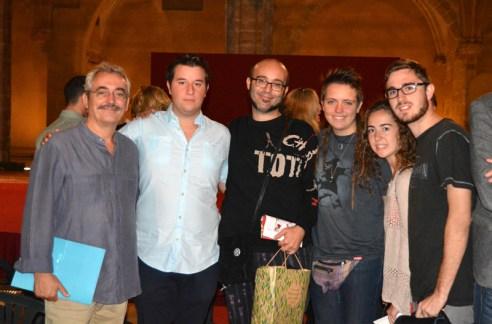 """Jordi Reig, el """"cantaor"""" Xavier, Enrique Hernández y alumnos y ex-alumnos del Conservatorio"""