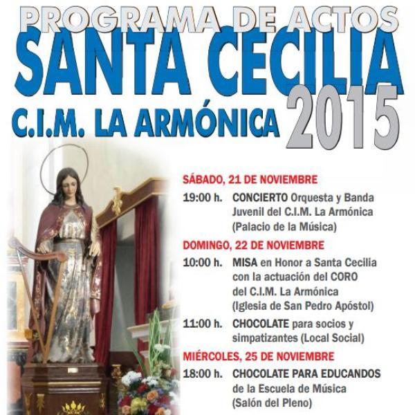Santa Cecilia litro 2015