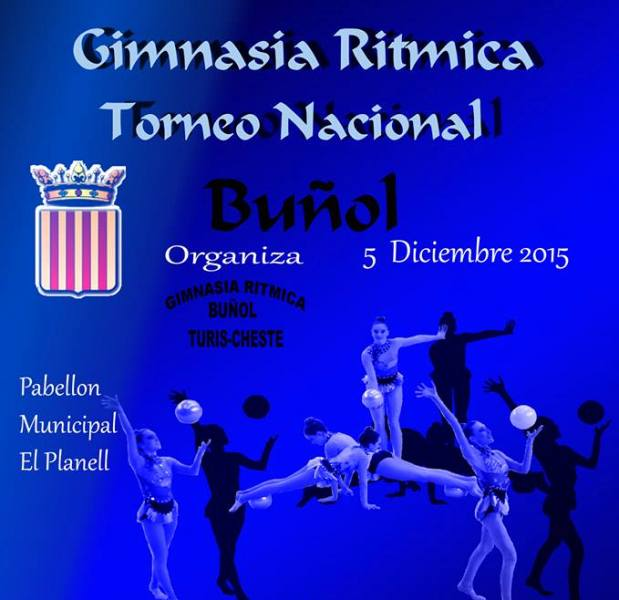 cartel gimnasia buñol
