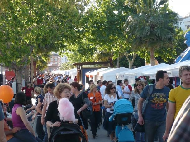 Feria comercio buñol