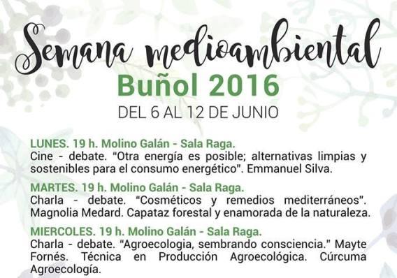 cartel semana medio ambiente
