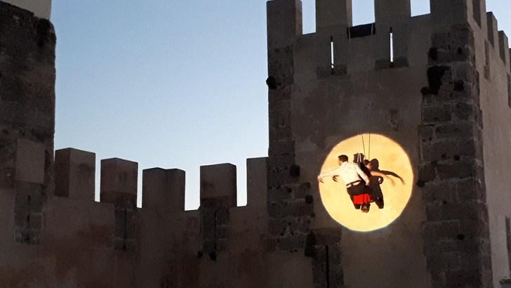 Las imágenes de la inauguración de la Bienal de Artes y del Festival «De Par en Part» de Buñol