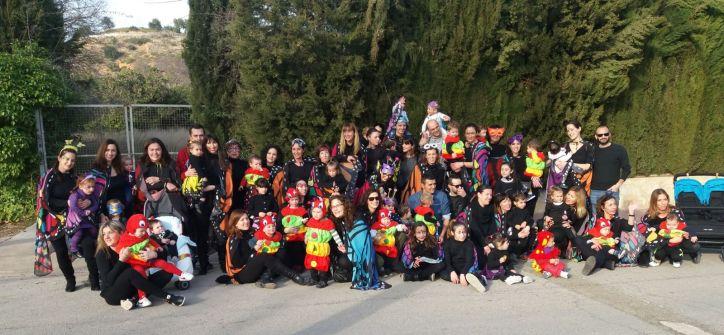 foto Carnaval grupal Escuela Infantil Municipal