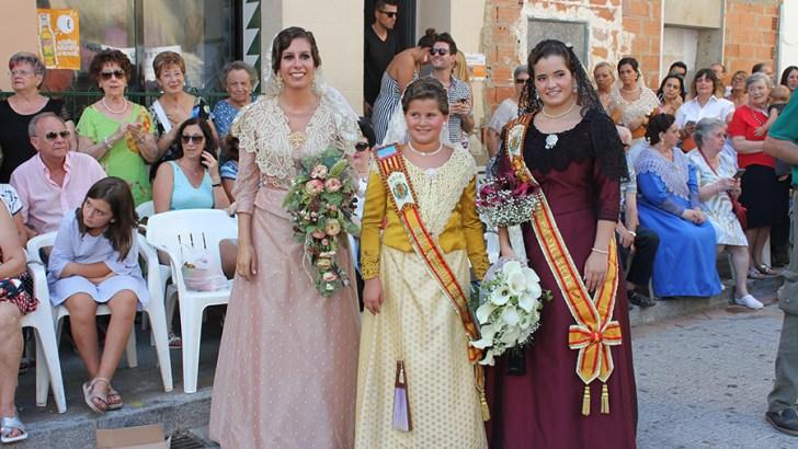 """Las imágenes de la Ofrenda de """"La Armónica"""" de Buñol"""