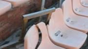 Las imágenes de los destrozos causados por unos vándalos en el Auditorio de Buñol