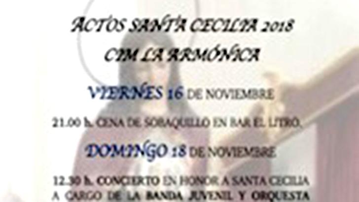 """Los actos de Santa Cecilia de """"La Armónica"""" de Buñol"""