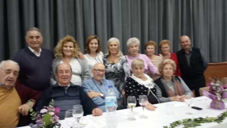 La Asociación de Jubilados Macastre celebra una espectacular Comida de Navidad