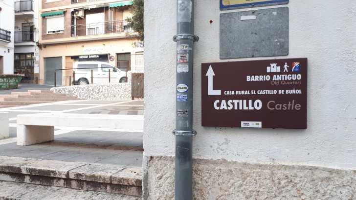 Buñol mejora la señalética turística en todo el término municipal