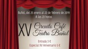 El XV Circuito Café Teatro llega a Buñol el próximo 25 de enero