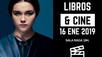 Libros&Cine regresa este miércoles a la Biblioteca de Buñol