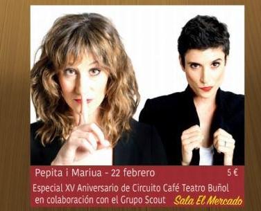 El XV Circuito Café-Teatro de Buñol finaliza con la mujer como protagonista