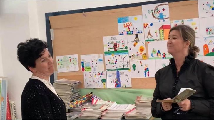 El CEIP Cervantes de Buñol se vuelca con la mujer y la niña en la Ciencia
