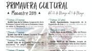 Continúan los actos de la Primavera Cultural en Macastre este fin de semana